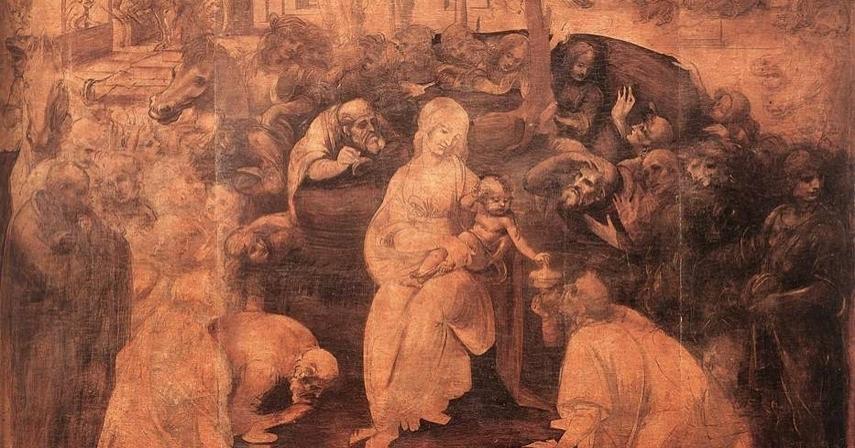 Il tempio e il virgulto. Una trama per l'Adorazione dei magi di Leonardo