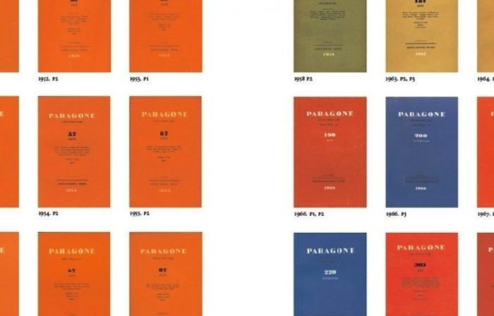 Su alcune riviste di storia dell'arte del secondo dopoguerra