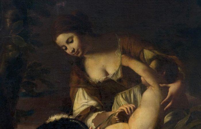 Bacco Venere e Amore: Anonimo caravaggesco o Maestro di Baranello?