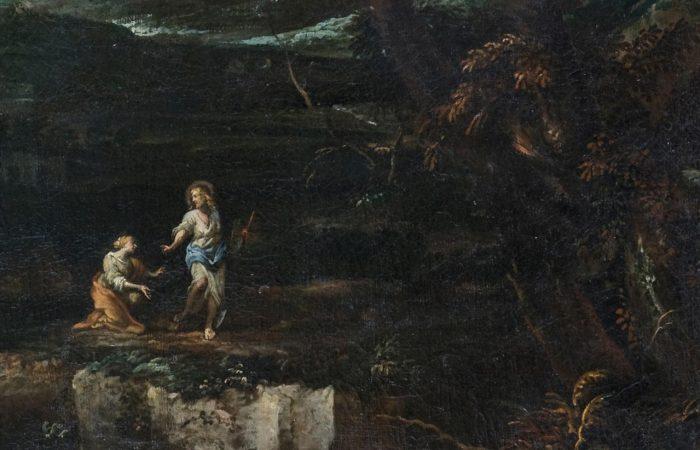 Noli me tangere: Salvator Rosa o Pietro Montanini?