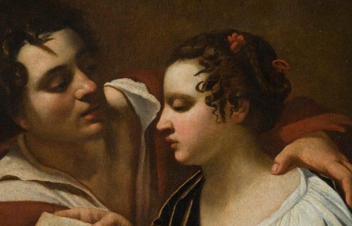 Paolo e Francesca: Ambito di Simon Vouet o Artemisia Gentileschi?